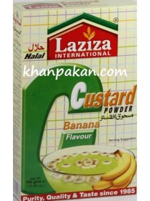 Laziza Custard - Banana 300 Gms